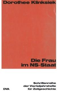 Cover Die Frau im NS-Staat