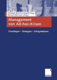 Cover Management von Ad-hoc-Krisen