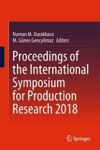 Cover Proceedings of the International Symposium for Production Research 2018