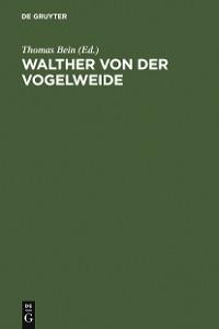 Cover Walther von der Vogelweide
