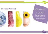 Cover Minéraux et corps humain: le lien simple