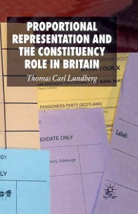 Cover Proportional Representation and the Constituency Role in Britain