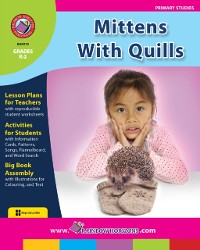 Cover Mittens With Quills Gr. K-2