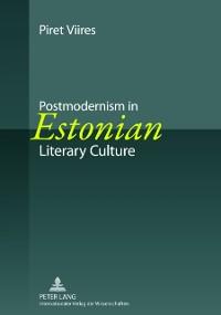 Cover Postmodernism in Estonian Literary Culture