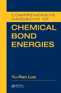 Cover Comprehensive Handbook of Chemical Bond Energies