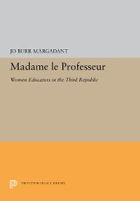 Cover Madame le Professeur