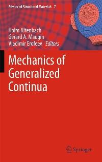Cover Mechanics of Generalized Continua