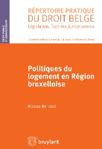 Cover Politiques du logement en région bruxelloise
