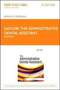 Cover Administrative Dental Assistant - E-Book