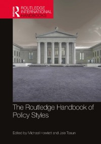 Cover Routledge Handbook of Policy Styles