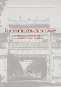 Cover Chinese in Colonial Burma
