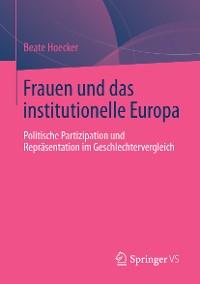 Cover Frauen und das institutionelle Europa