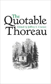 Cover The Quotable Thoreau