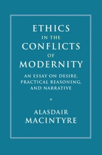 Cover Ethics in the Conflicts of Modernity