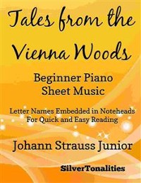 Cover Tales from the Vienna Woods Beginner Piano Sheet Music
