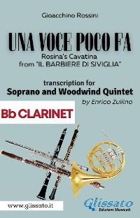Cover (Bb Clarinet part) Una voce poco fa - Soprano & Woodwind Quintet