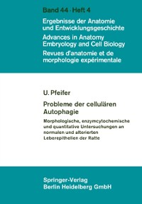 Cover Probleme der cellularen Autophagie