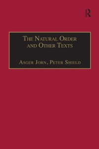 Cover Natural Order and Other Texts