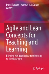 Cover Agile and Lean Concepts for Teaching and Learning