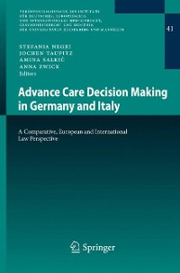 Cover Advance Care Decision Making in Germany and Italy
