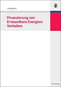 Cover Finanzierung von Erneuerbare-Energien-Vorhaben