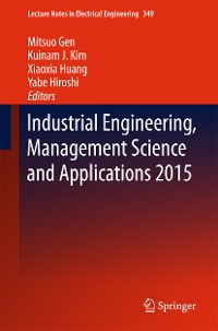 Cover Industrial Engineering, Management Science and Applications 2015