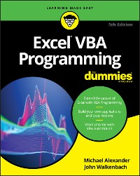 Cover Excel VBA Programming For Dummies