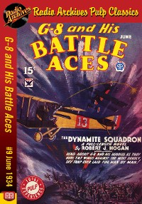 Cover G-8 and His Battle Aces #9 June 1934 The