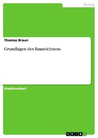 Cover Grundlagen des Bauzeichnens