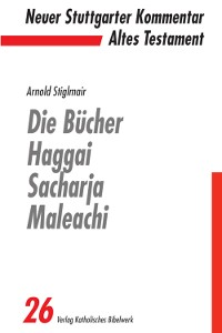 Cover Die Bücher Haggai, Sacharja, Maleachi - E-Book