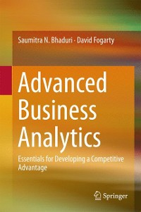 Cover Advanced Business Analytics