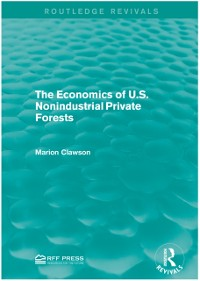 Cover Economics of U.S. Nonindustrial Private Forests