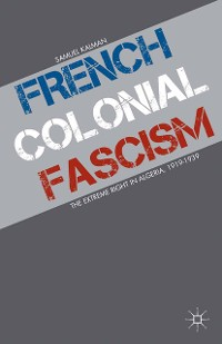 Cover French Colonial Fascism