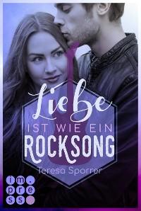 Cover Liebe ist wie ein Rocksong