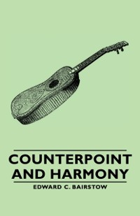 Cover Counterpoint and Harmony