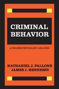 Cover Criminal Behavior