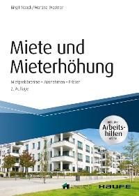 Cover Miete und Mieterhöhung - inkl. Arbeitshilfen online