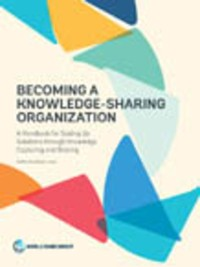 Cover Becoming a Knowledge-Sharing Organization