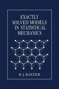 Cover Exactly Solved Models in Statistical Mechanics