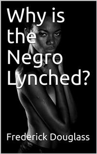 Cover Why is the Negro Lynched?