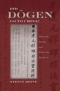 Cover Did Dogen Go to China?