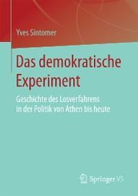 Cover Das demokratische Experiment