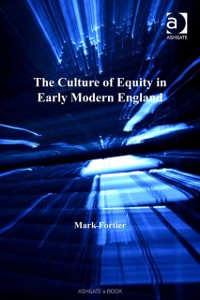 Cover Culture of Equity in Early Modern England