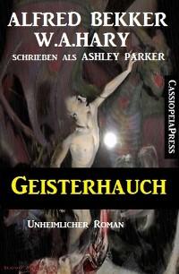 Cover Geisterhauch: Unheimlicher Roman