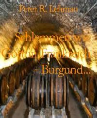 Cover Schlemmen wie Gott in Frankreich - Burgund...