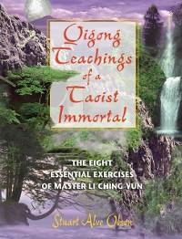 Cover Qigong Teachings of a Taoist Immortal