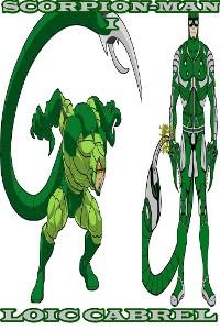 Cover Scorpion-man I
