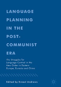 Cover Language Planning in the Post-Communist Era
