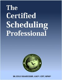Cover The Certified Scheduling Professional