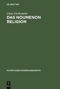 Cover Das Noumenon Religion